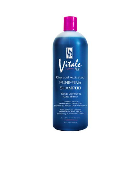Vitale Pro Charcoal Activated Purifying Shampoo by AFAM Concept